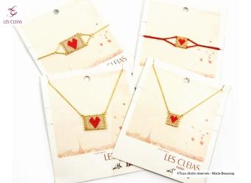 """Créations de packagings pour la bijouterie - accessoires """"Les Cléias"""""""